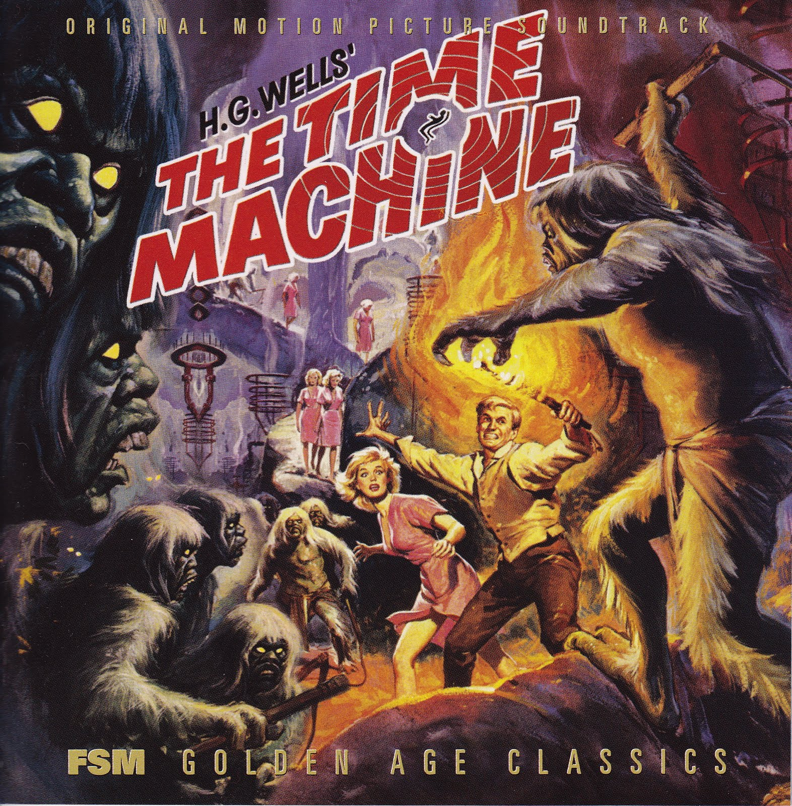 the machine by